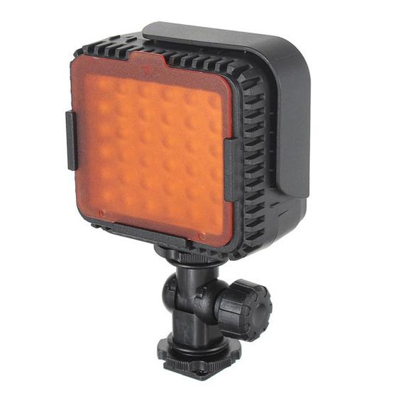 Cn -lux360 Lámpara De Luz Vídeo Portátil 36 Led Para Cámara