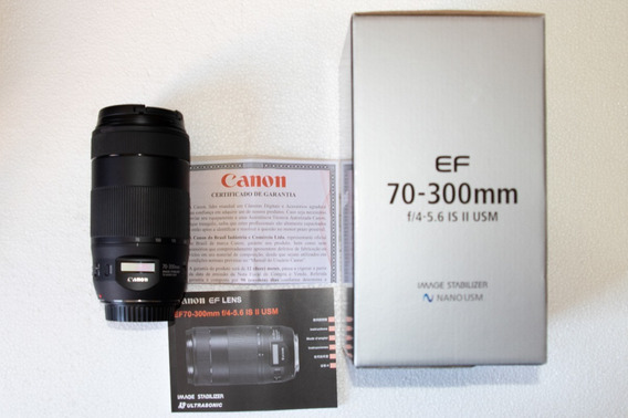 Canon Lente Ef 70-300mm F/4-5.6 Is Ii Usm