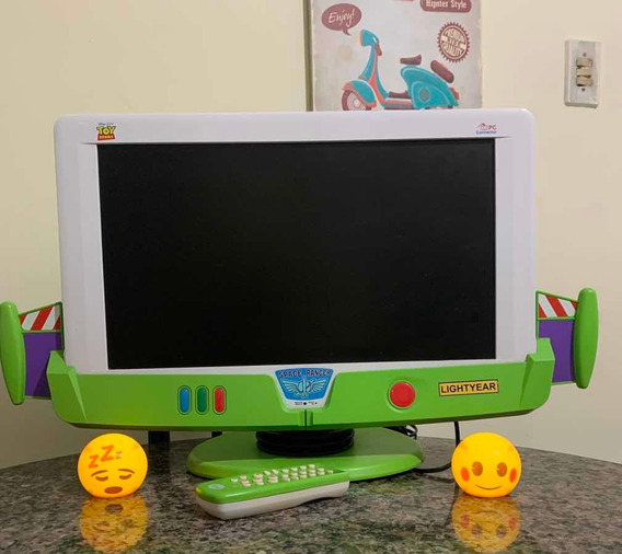 Tv E Monitor Lcd Toy Story
