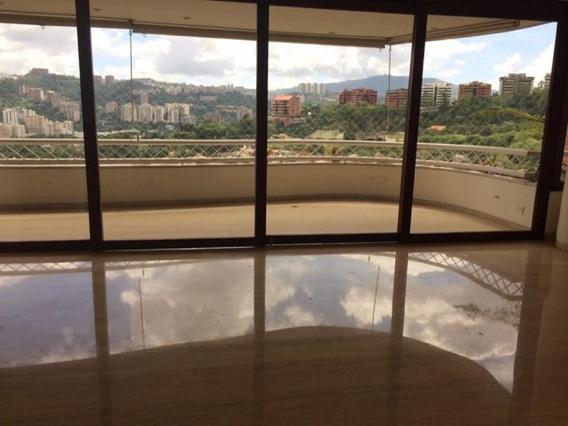 Se Alquila Apto 420m2 4h+s/4.5b+s/3p Clnas De Valle Arriba