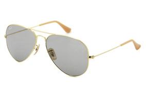 8d1a13a83 Óculos Ray Ban Rb3025 9064/v8 58 Aviador Evolve - Lente 58mm