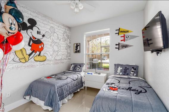 Departamento En Orlando 3 Dorm Y 2 Baños A 10 Min De Disney