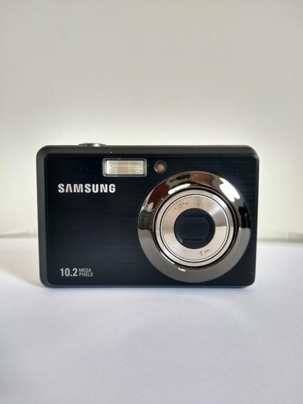 Câmera Digital Sansung Es55 10.2 Mp Acompanha Cartão 2 Gb