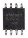 Memória Tv Placa Principal W25q64 Varios Modelos Consulte