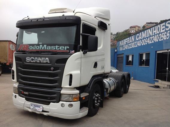 Scania G 420 6x4 Bug Leve 2011/12
