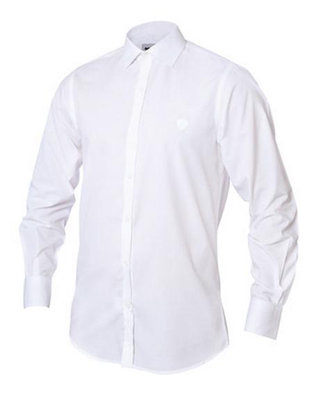 Camisa Blanca Mangas Largas Scania