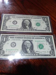 Billete De 1 Dolar Perfecto Estado Año 1963