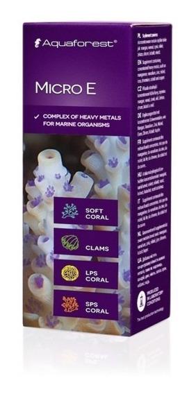 Micro E 10ml Aquaforest Melhora Cor Corais Aquário Marinho