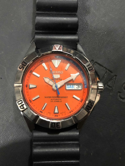 Reloj Diver Seiko 5 Acero Mini Monster