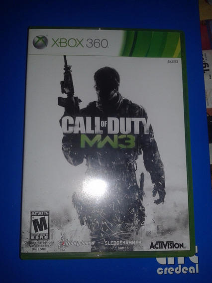 Xbox 360 Call Of Duty Modern Warfare 3 Midia Fisica