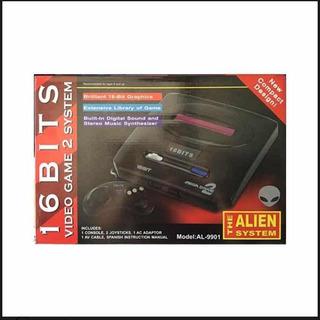 Sega Retro 16 Bit Alien Incluye Juegos