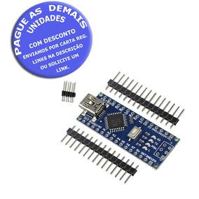 Arduino Nano V3 Atmega328p Carta Reg. Incluso