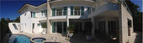 Casa Com 6 Dormitórios À Venda, 555 M² Por R$ 5.800.000,00 - Riviera - Módulo 22 - Bertioga/sp - Ca0028