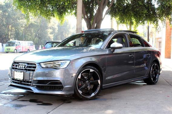 Audi //s3 Sedan// 2016 Seminuevo!! Quattro, Piel, Gps, Qc