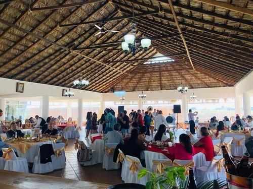Imagen 1 de 27 de Salón Palapa Para Fiestas Y Reuniones, Cerca De Puerto Inter