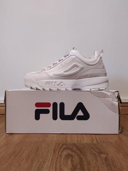 Tênis Fila Disruptor Ii Premium Masculino - Branco