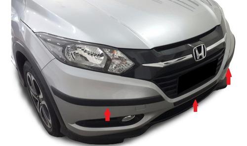Honda Hrv Protectores De Paragolpes Delanteros 3 Piezas !!!!
