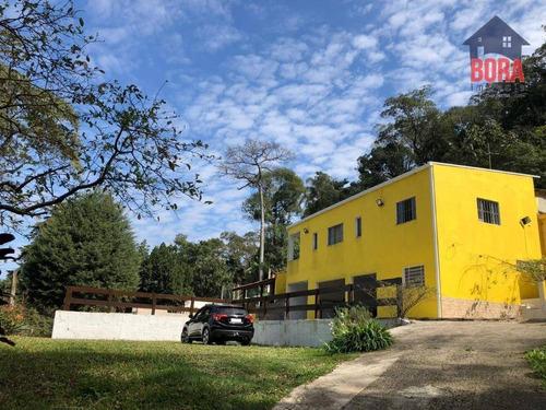 Chácara Com 4 Dormitórios À Venda, 3000 M² Por R$ 530.000,00 - Jardim Da Serra - Mairiporã/sp - Ch0344