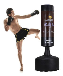Saco Box Piso Importado Muay Thai Boxeo Tae Kwon Do Karate
