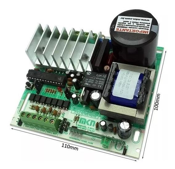 Central Portão Eletrônico Mkn Aceleradora Home 433mhz 50%