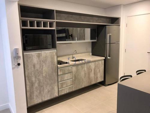 Apartamento 35m², 1 Dormitorios, 1 Suíte, 1 Vagas - Campo Belo - Ap11682