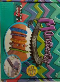 Kit Elástico Fábrica De Pulseiras Monstertail- Liguinhas