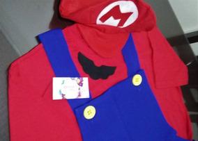 Fantasia Super Mário Bros Ou Luigi Adulto.