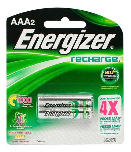 Pilas Energizer Aaa Recargables X2 Pilas 700mah