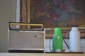 Radio Philco Transglobe Transistor 8 Faixas N/ Funciona Had