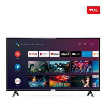 Tv 32p Tcl Led Smart Wifi Hd Controle De Voz - 32s6500
