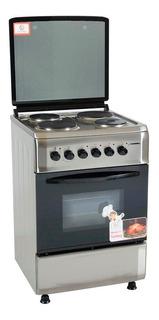 Cocina Electrica Cromwell 60 Cm Horno Electrico Puerta Visor