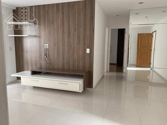 Apartamento Com 2 Dormitórios À Venda, 85 M² Por R$ 570.000,00 - Icaraí - Niterói/rj - Ap3164