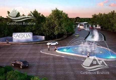 Terreno En Venta En Aqua Cancún