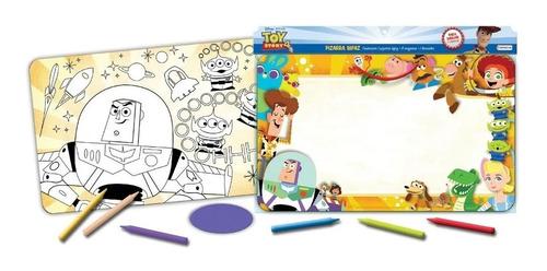 Pizarra Toy Story 4 Bifaz P/crayon Original Tapimovil Cuotas