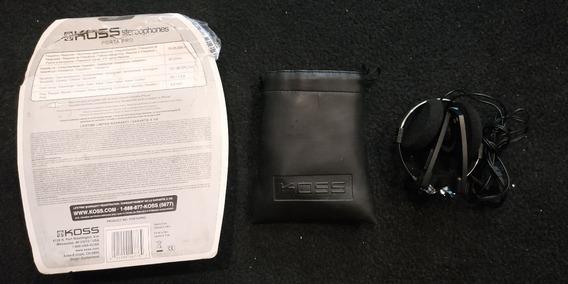 Fone Koss Portapro Original Com Bag