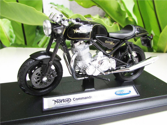 Moto Norton 961 Se Clasica Metal Coleccion Esc1:18