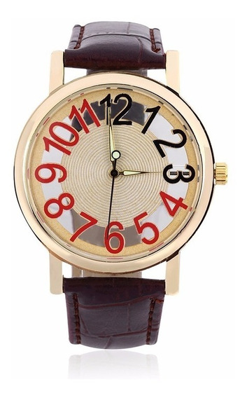 Relógio De Pulso Social De Luxo Masculino Feminino R500