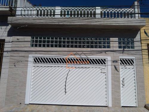 Sobrado À Venda, 129 M² Por R$ 519.000,00 - Conjunto Residencial José Bonifácio - São Paulo/sp - So0366