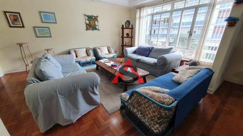 Apartamento Com 3 Dormitórios À Venda, 217 M² Por R$ 2.150.000,00 - Higienópolis - São Paulo/sp - Ap43439