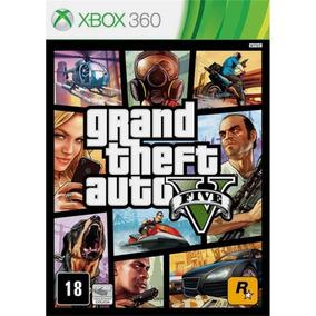 Grand Theft Auto V Gta 5 Xbox 360 Novo Original Mídia Física