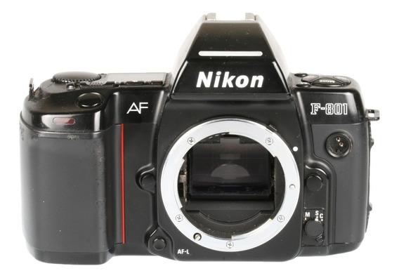 Câmera Analógica 35mm Nikon F-801 Corpo