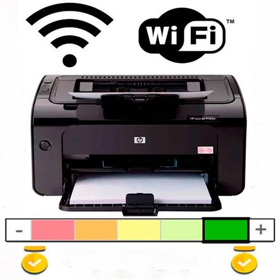 Impresora Hp 1102w Laser Pro Monocromatica Wifi Precio Ofert