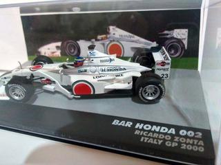 Miniatura Bar Honda Ricardo Zonta Italy Gp 2000 (1/43)