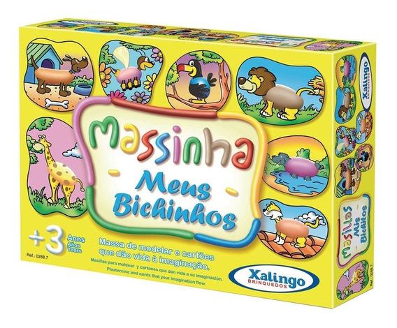 Massinha De Modelar Infantil Meus Bichinhos - Xalingo