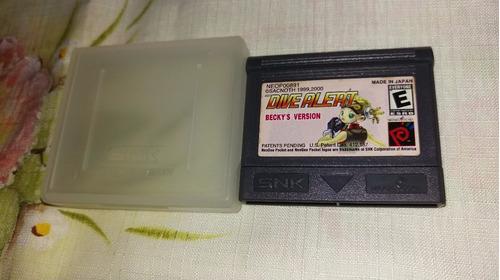 Dive Alert Becky´s Version Original Neo Geo Pocket Usa