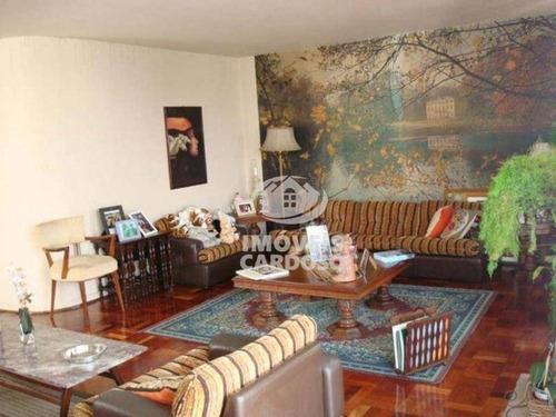 Imagem 1 de 14 de Apartamento Com 3 Dormitórios À Venda, 200 M² Por R$ 1.289.000 - Higienópolis - São Paulo/sp - Ap0291