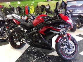 Motocicleta Kawasaki Ninja 650r 2016 5500km Roja