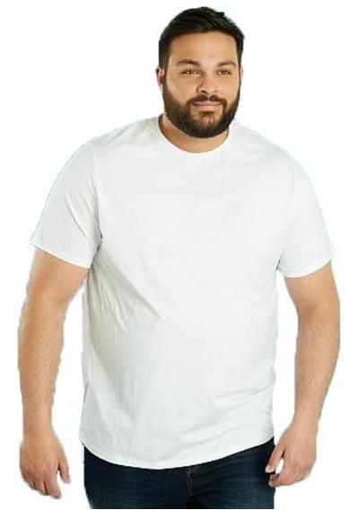 Camiseta Plus Size Masculina Tamanho Grande P/ Sublimação