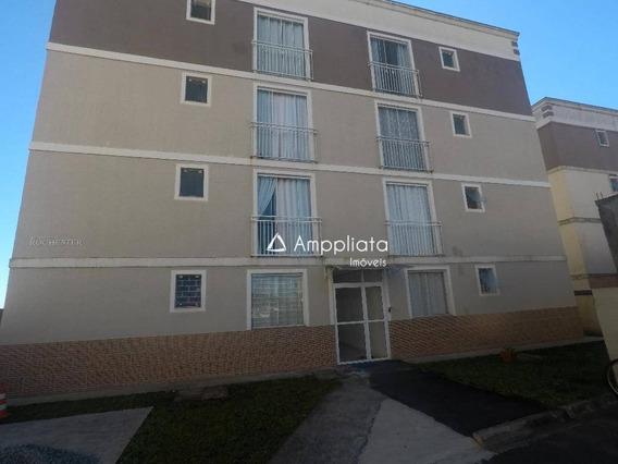 Apartamento Com 2 Dormitórios À Venda, 63 M² Por R$ 140.000 - Centro - Quatro Barras/pr - Ap0264
