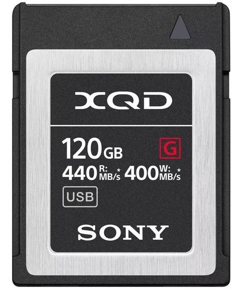 Memoria Xqd Sony 120gb Qd G Series 440mb/s (qd-g120f/j)